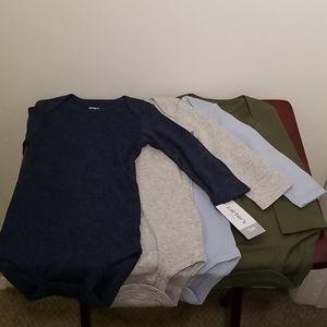 Carter's Baby Boy Long Sleeved Bodysuits Set